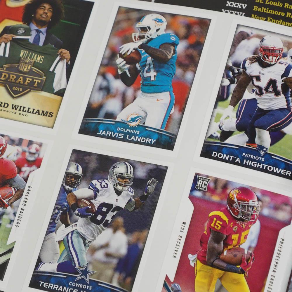 NFL 2015-16 sticker collection album Panini /Panini
