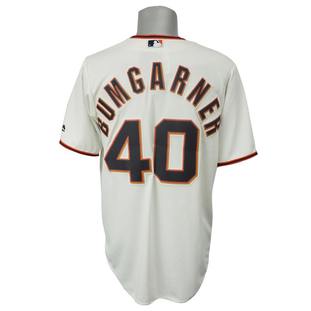 MLB ジャイアンツ マディソン・バムガーナー クールベース レプリカ ゲーム ユニフォーム マジェスティック/Majestic ホーム
