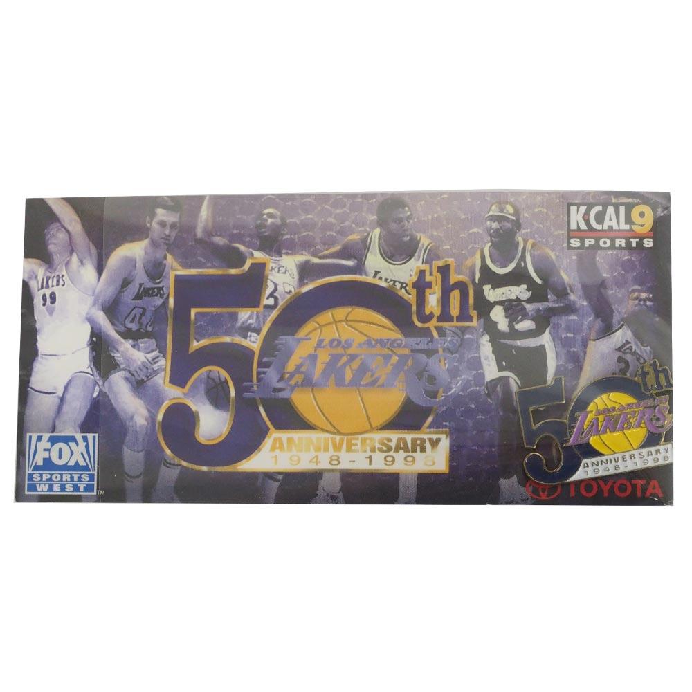 NBA レイカーズ 50th アニバーサリー ピンバッジ PSG(ピーエスジー) レアアイテム【1910価格変更】