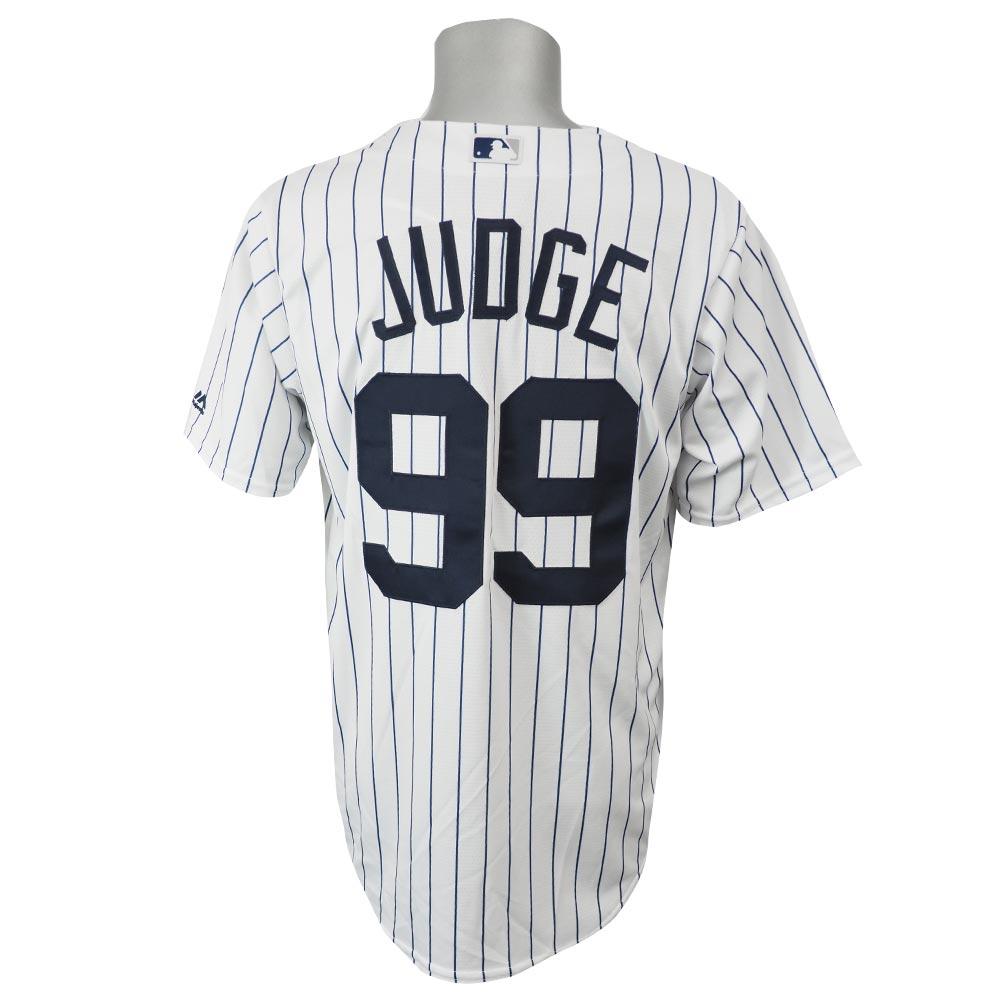 【リニューアル記念メガセール】MLB ヤンキース アーロン・ジャッジ クールベース レプリカ ゲーム ユニフォーム マジェスティック/Majestic ホーム
