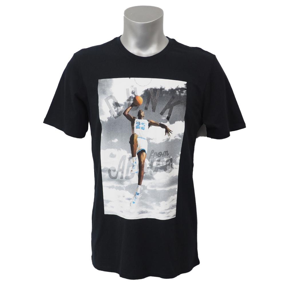 ナイキ ジョーダン/NIKE JORDAN ダンク フロム アバーブ Tシャツ ブラック 725006-010 レアアイテム【1910価格変更】
