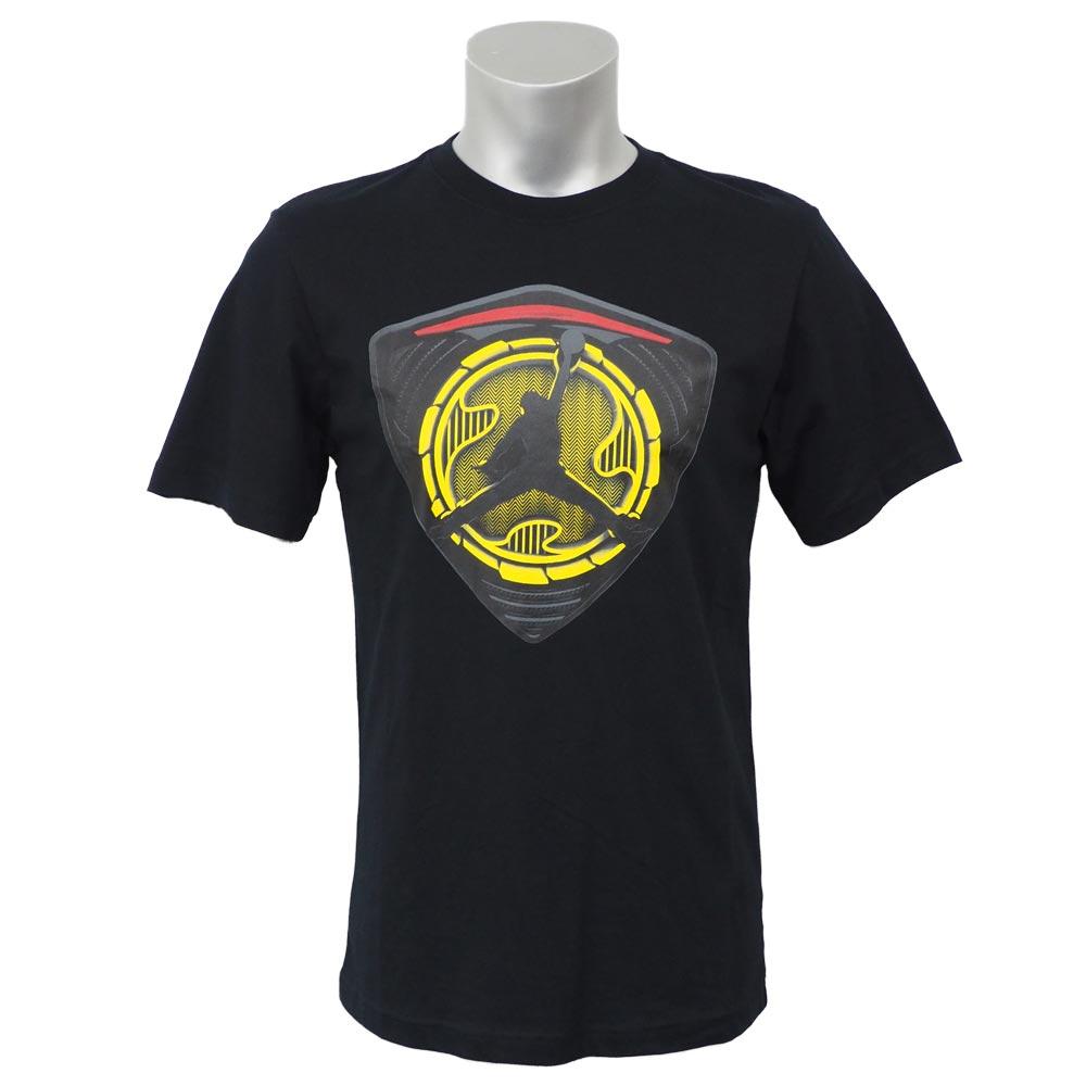 ジョーダン/JORDAN エアジョーダン 14 レトロ シールド Tシャツ ブラック 619946-011 レアアイテム