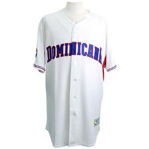 WBC ドミニカ共和国 ワールド・ベースボール・クラシック 2009 クールベース オーセンティック ユニフォーム マジェスティック/Majestic ホーム【1910セール】