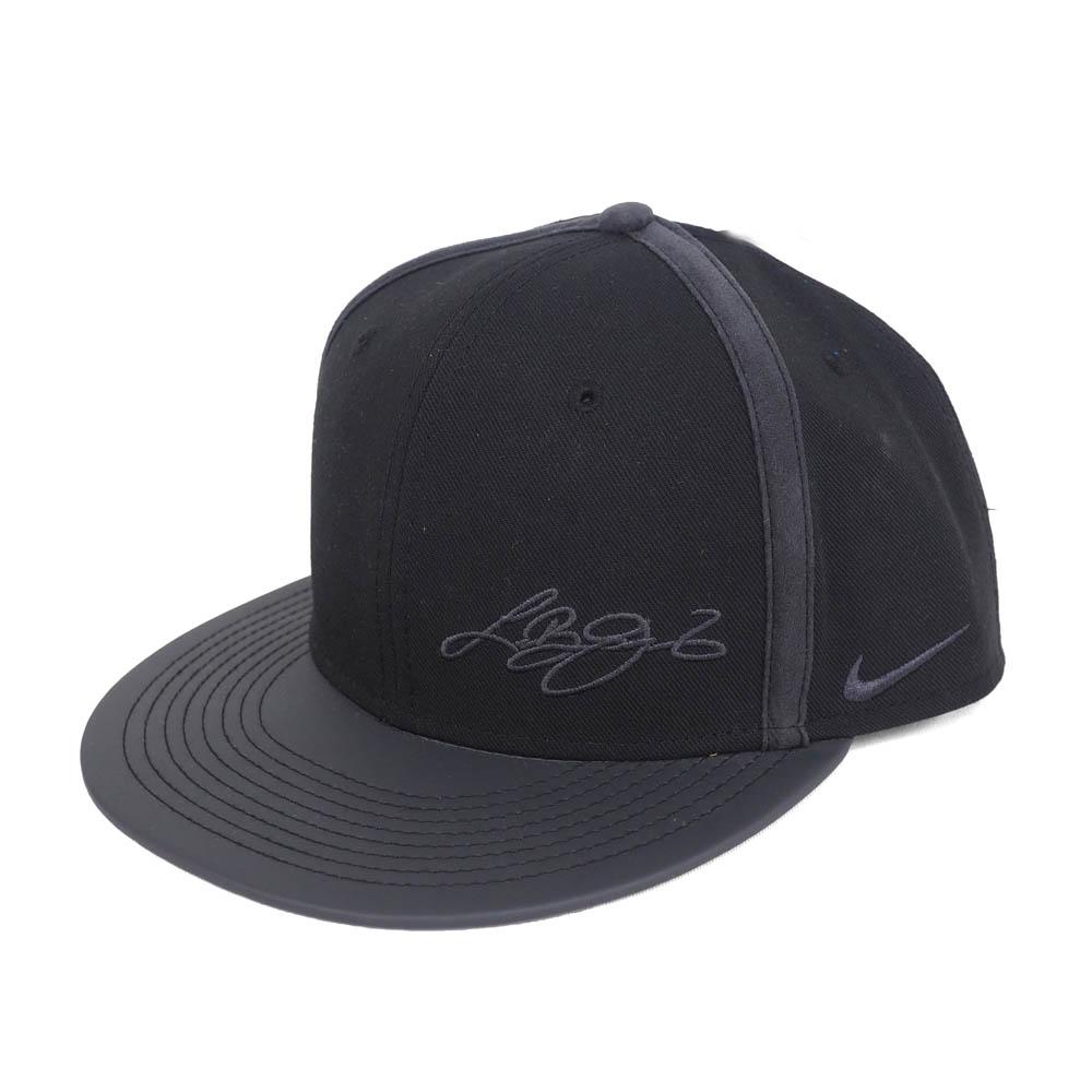 5e083dbb6721e Nike Revlon  NIKE LEBRON Revlon James black lion toe roux snapback cap  black 810