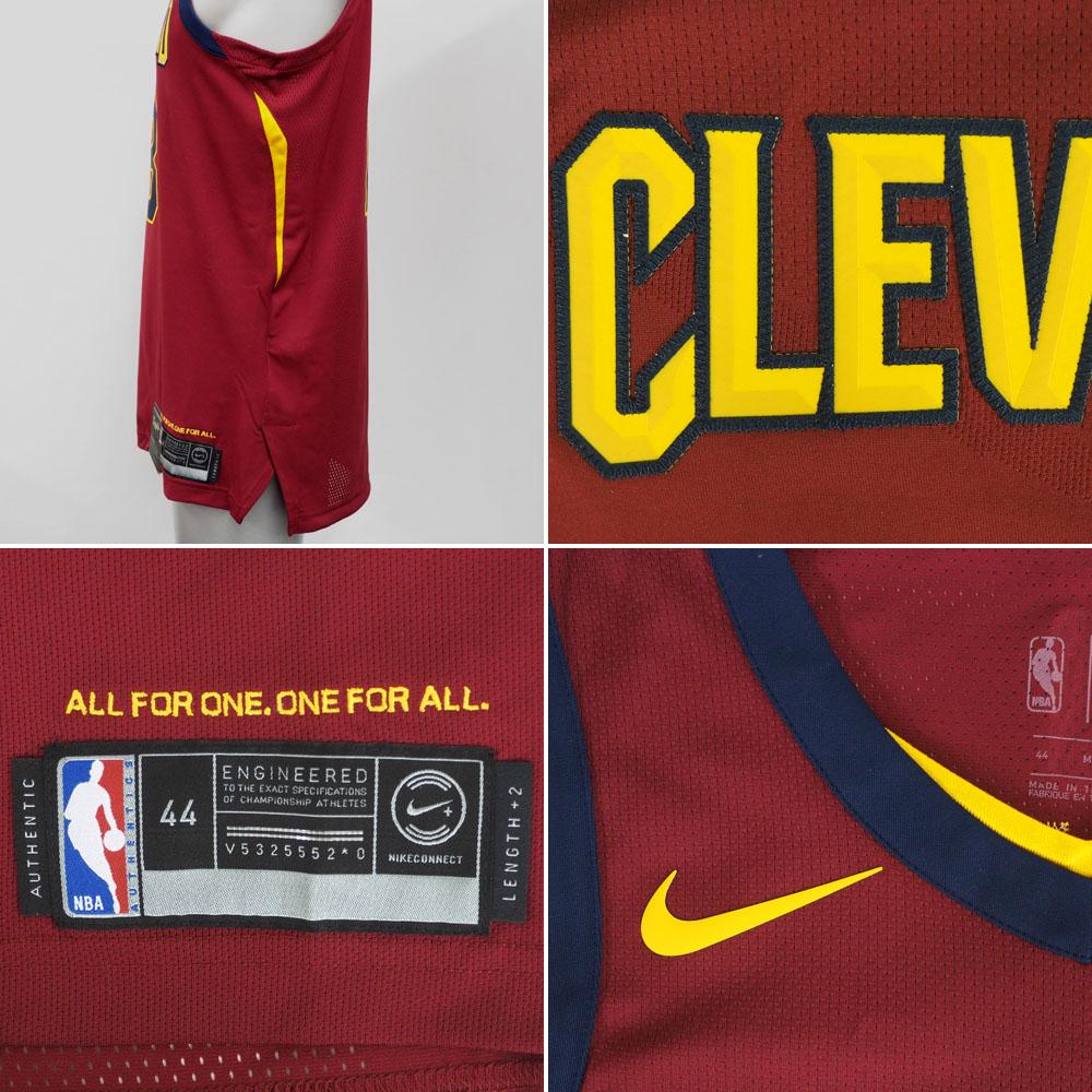 buy popular 9c7b3 00b64 NBA Nike/ Nike Cavaliers Revlon James authentic uniform / uniform road