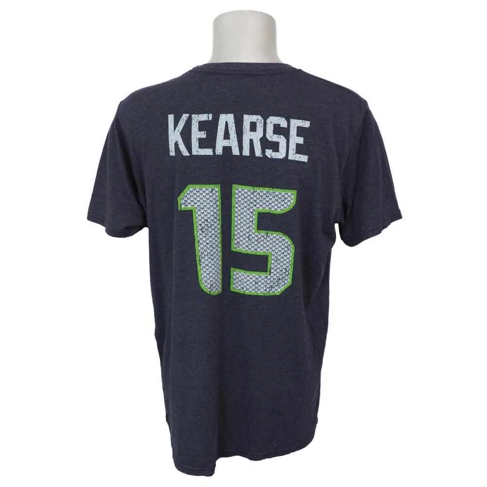 NFL シーホークス ジャーメイン・カース ネーム&ナンバー トライブレンド Tシャツ ネイビー レアアイテム【1910セール】