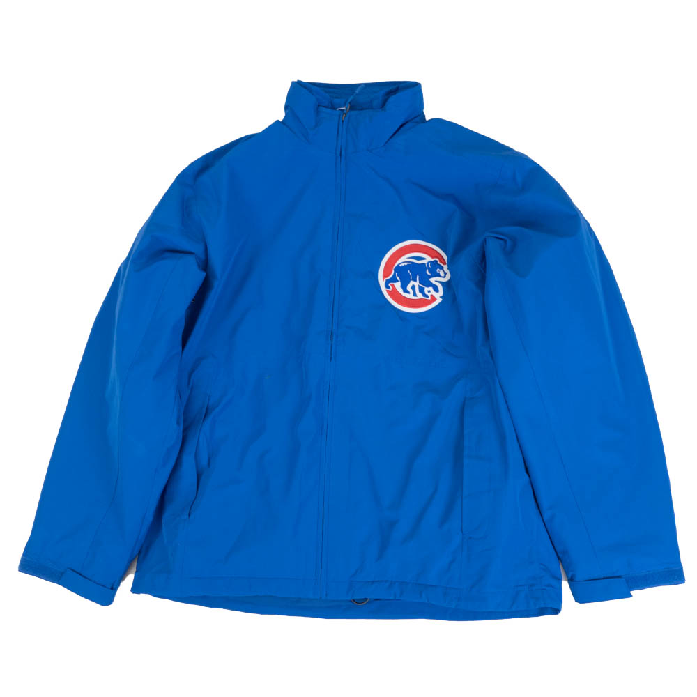 あす楽対応 マジェスティック製2in1タイプの選手着用モデルジャケット カブス スタジャン MLB マジェスティック Majestic 即出荷 ロイヤル AC Jacket メンズ アウター 1 長袖 2 Systems ジャケット in 超定番