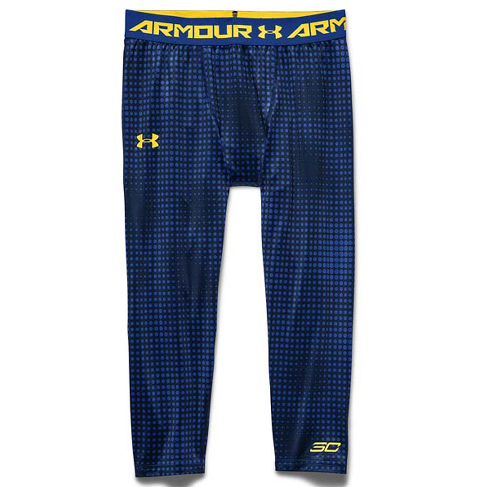 db6afea25c3 Throw away under Armour SC30 Under Armour SC30 Stephane curry  fin curry  pudding Ted 3 4 leggings   spats navy   blue rare item