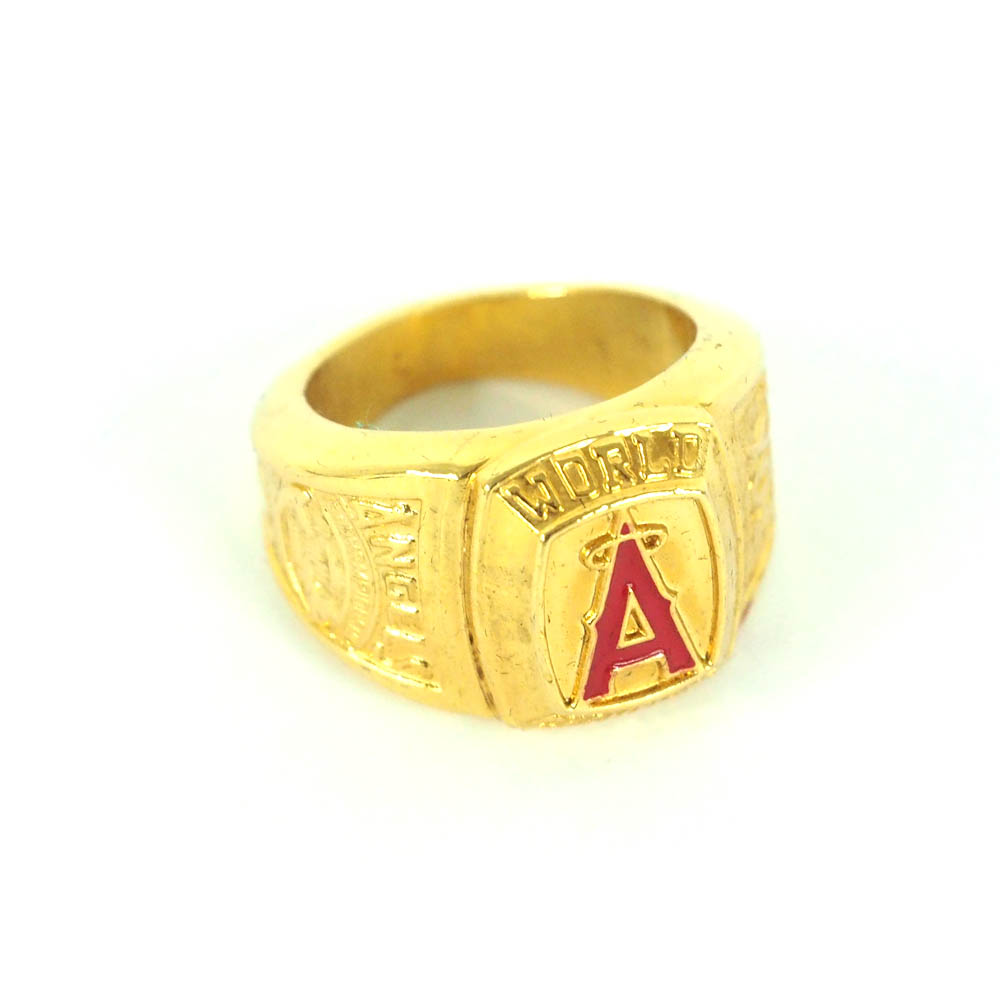 MLB エンゼルス 2002 ワールドシリーズ チャンピオンズ レプリカリング/指輪 レアアイテム【1910価格変更】