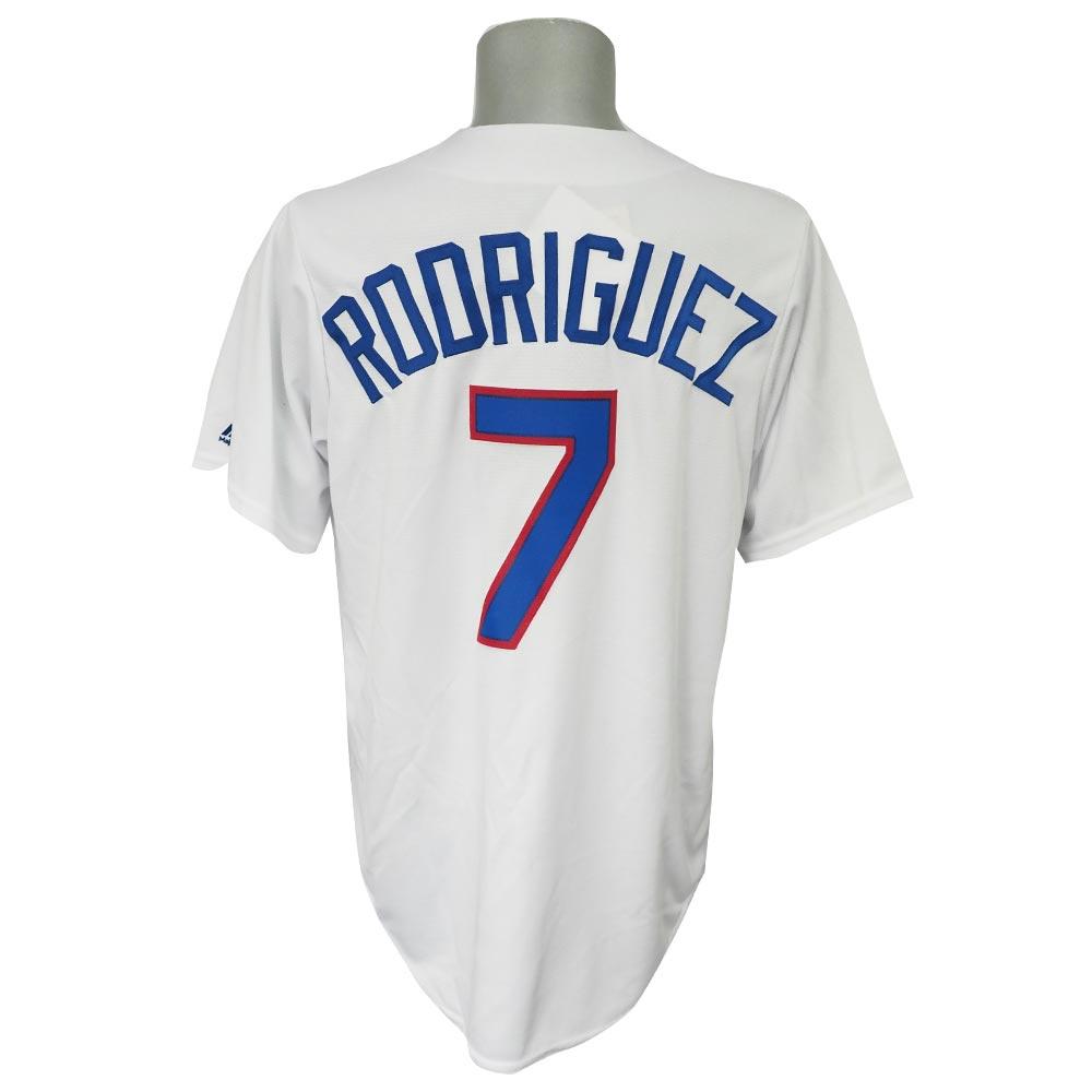 MLB レンジャーズ イバン・ロドリゲス クーパーズタウン コレクション クールベース ユニフォーム/ユニホーム マジェスティック/Majestic ホワイト