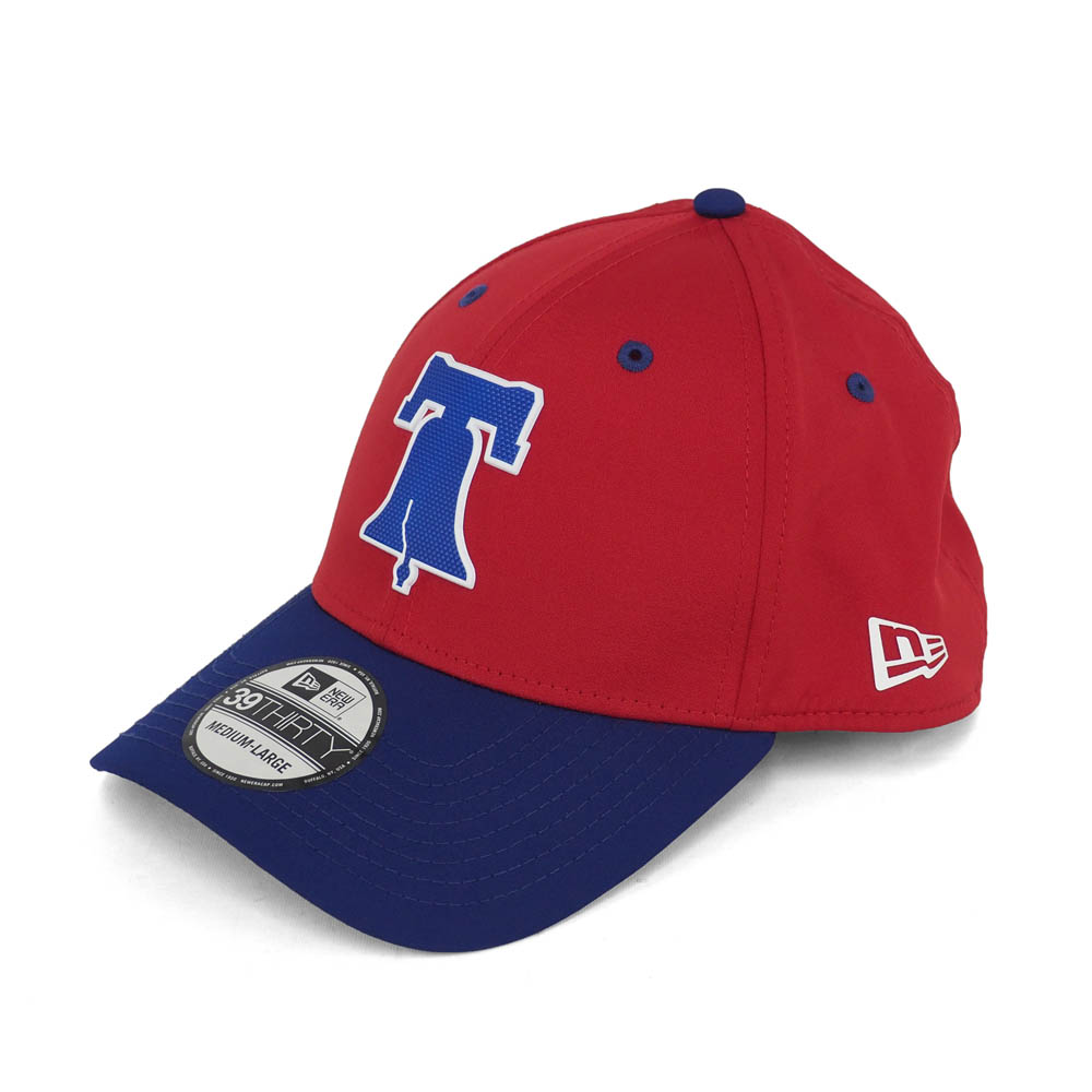 Professional player MLB Phillies 2018 on Field light batting practice  39THIRTY flexible cap   hat new gills  New Era game 88a34fc1f31
