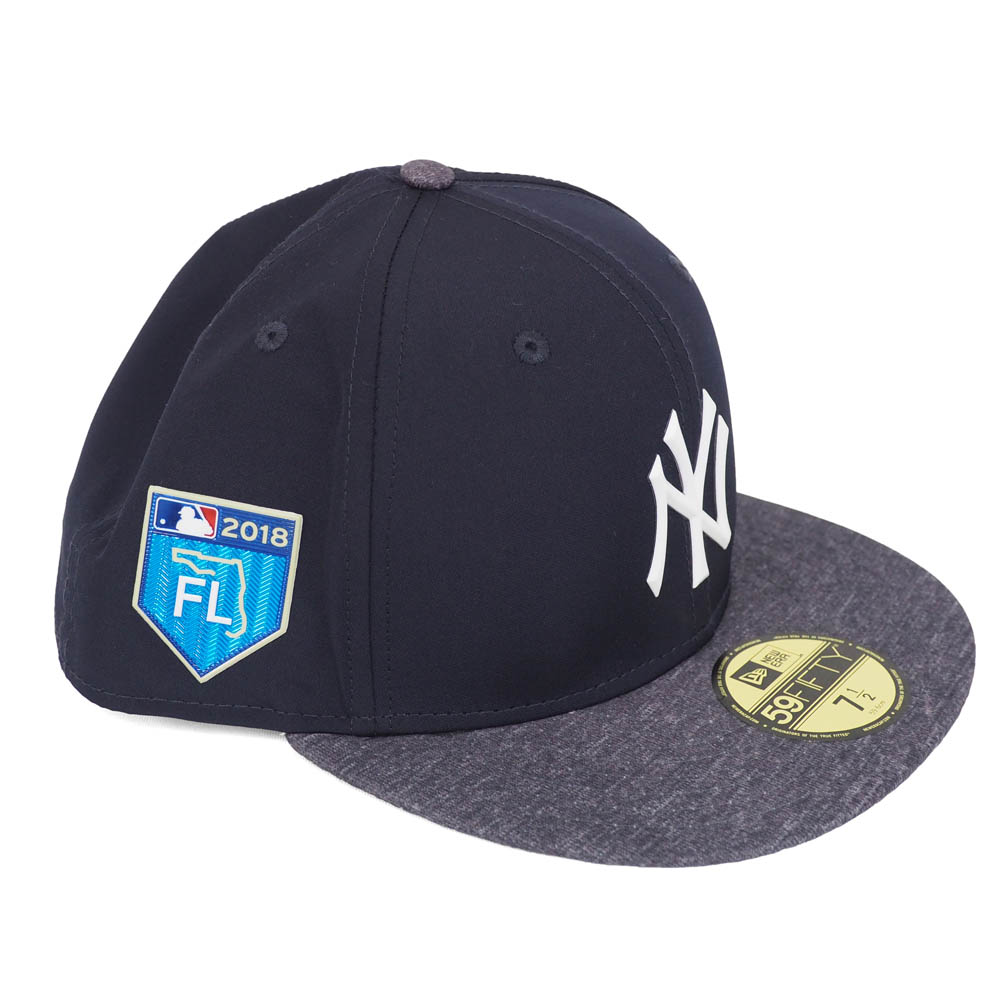 MLB Yankees 2018 spring training 59FIFTY フィッテッドキャップ   hat new gills  New  Era road f14725c7001