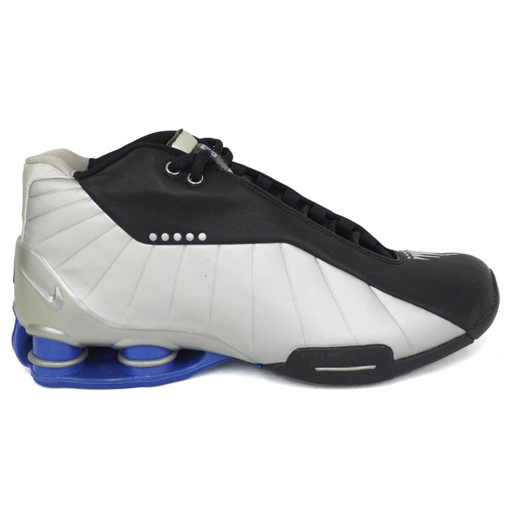 new style 405a5 6a81e Vince Carter shocks BB4 shoes SHOX BB4 Nike  Nike black   metallic silver  830,218-001