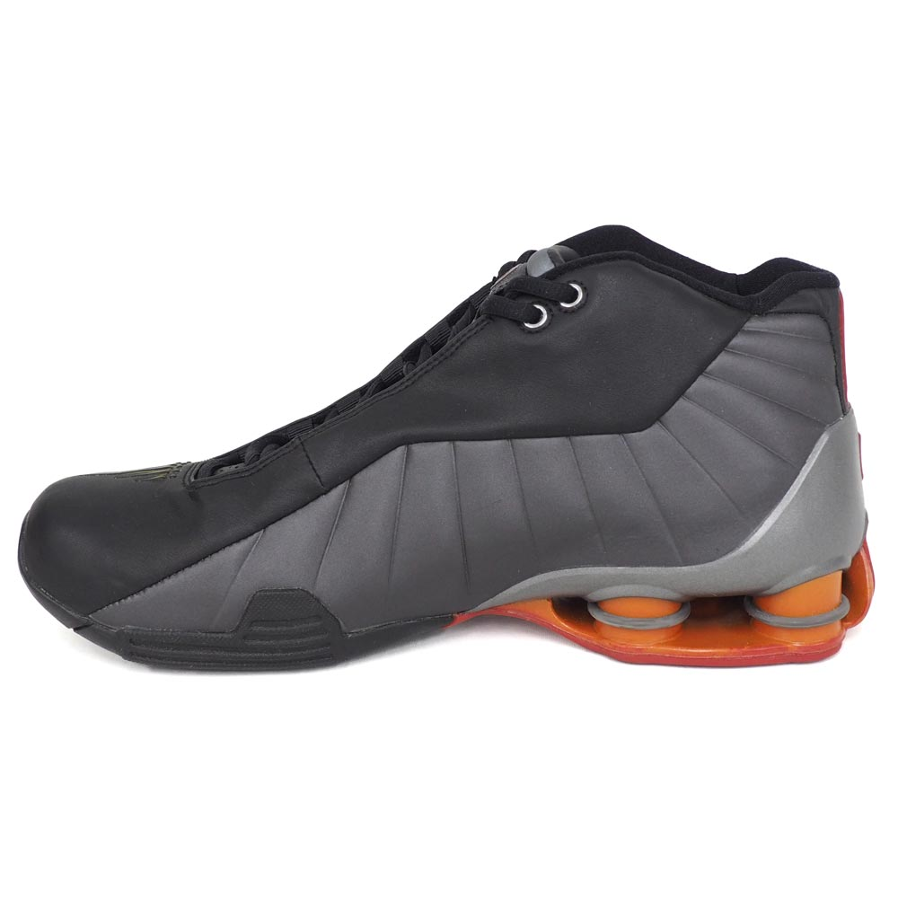 Vince Carter shocks BB4 shoes SHOX BB4 Nike  Nike black   light graphite  830 f44ebc689