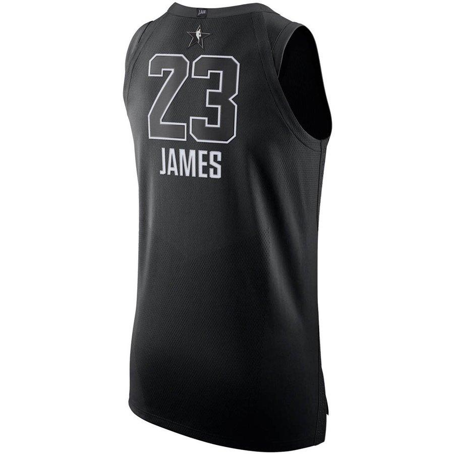 ナイキ ジョーダン/NIKE JORDAN NBA レブロン・ジェイムス 2018 オールスターゲーム オーセンティック ユニフォーム/ジャージ ブラック