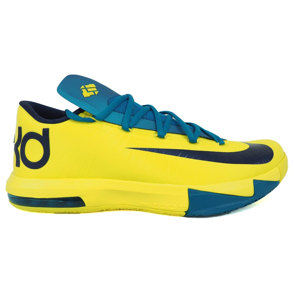a1cbb7c253a8 Nike KD NIKE KD Kevin Durant KD VI shoes   basketball shoes sonic yellow  599