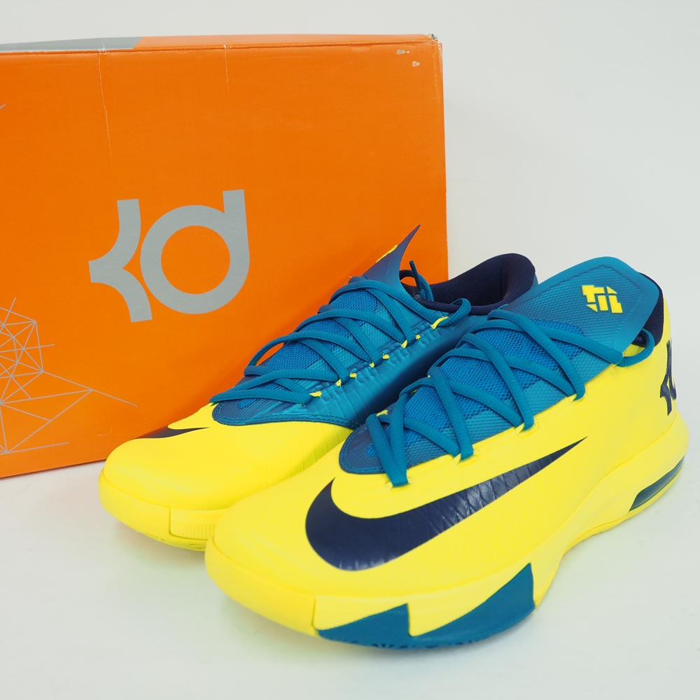 huge discount 4960e deaca ... denmark nike kd nike kd kevin durant kd vi shoes basketball shoes sonic  yellow 599424 700