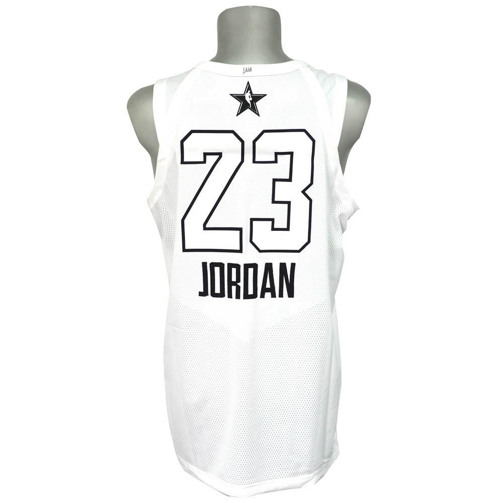 ナイキ ジョーダン/NIKE JORDAN NBA マイケル・ジョーダン 2018 オールスターゲーム オーセンティック ユニフォーム/ジャージ ホワイト