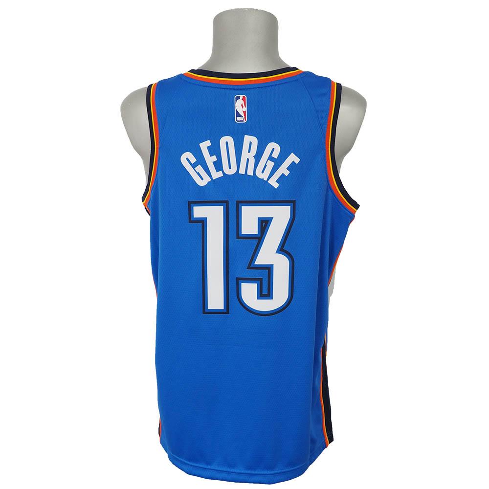 NBA サンダー ポール・ジョージ スウィングマン ユニフォーム/ジャージ アイコンエディション ナイキ/Nike ブルー 864497-409【NJP】