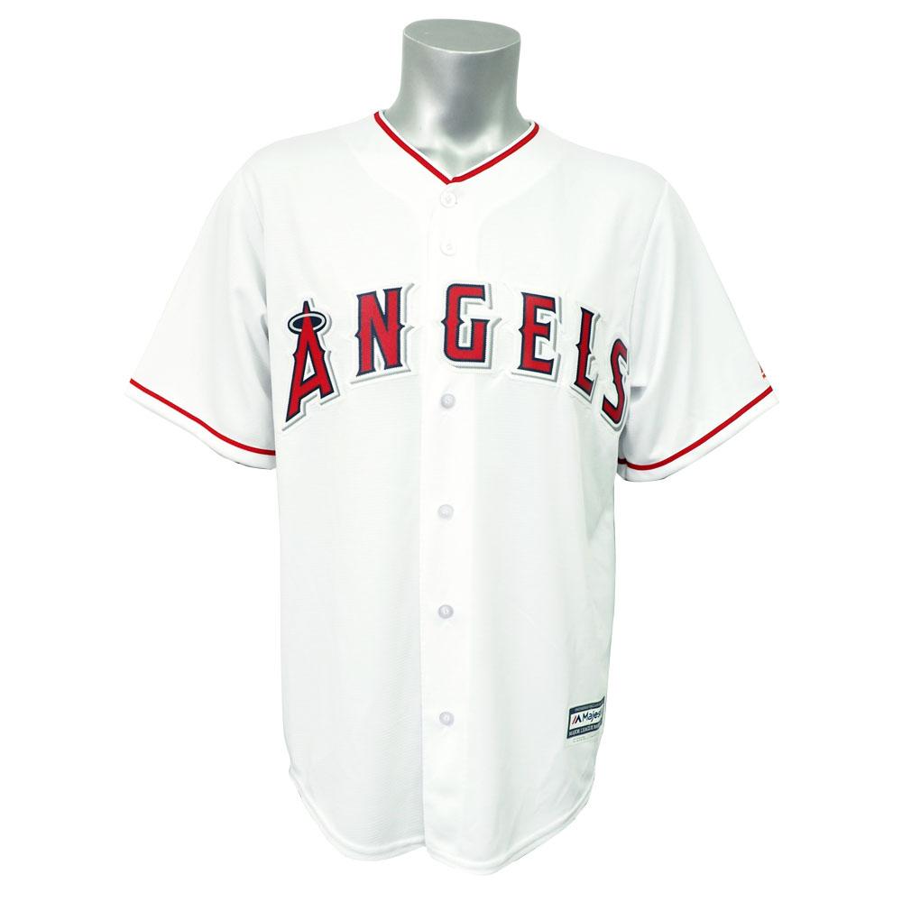 リニューアル記念メガセール MLB エンゼルス クールベース レプリカ ゲーム ユニフォーム/ユニホーム マジェスティック/Majestic ホーム
