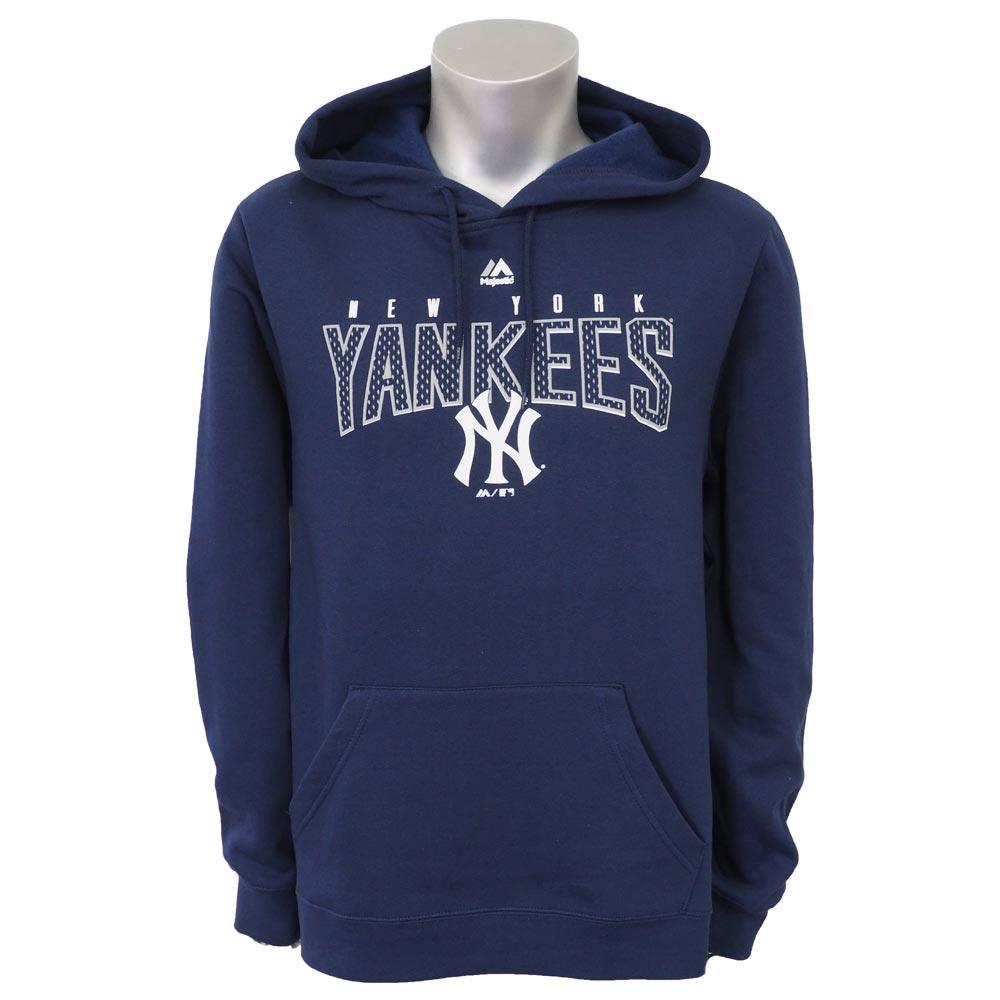 【リニューアル記念メガセール】MLB ヤンキース フィアス アーセナル パーカー/フーディー マジェスティック/Majestic ネイビー