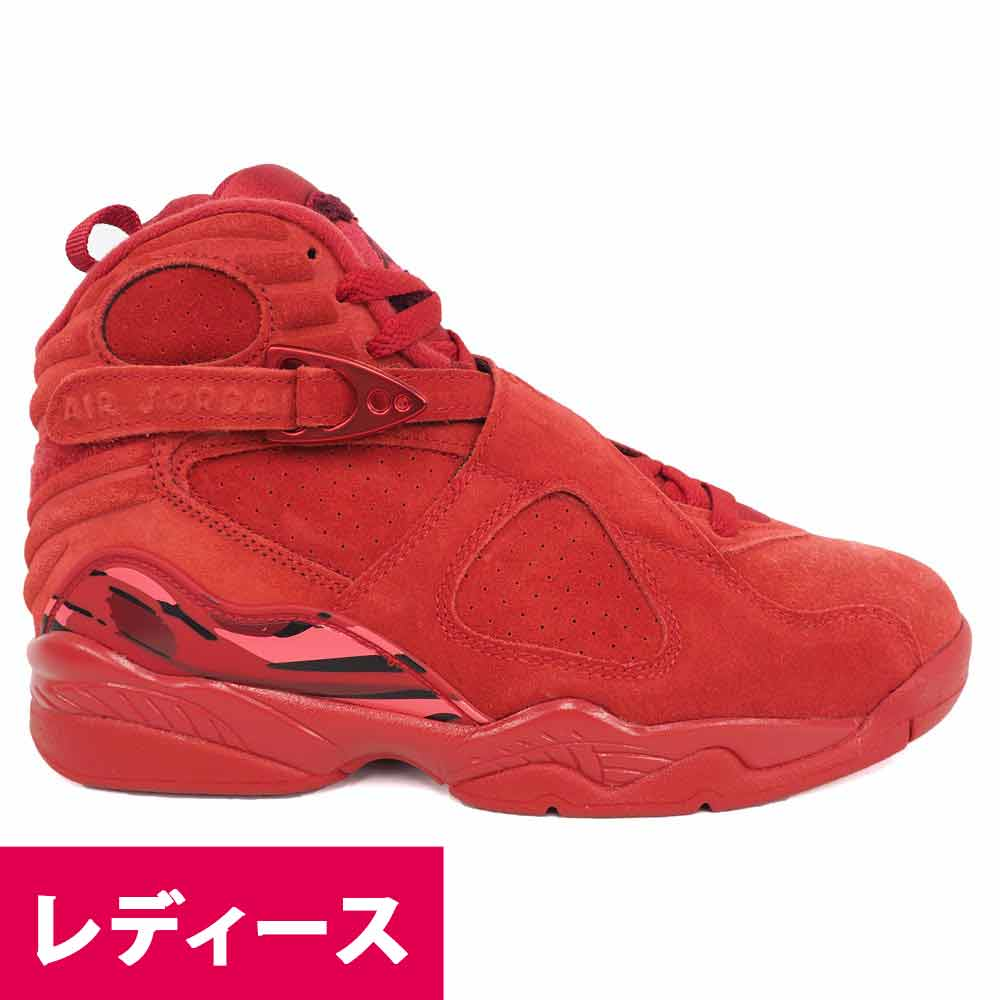 promo code 468e3 95541 WMNS AIR JORDAN 8 RETRO VDAY AQ2449-614 lady's on Nike Jordan /NIKE JORDAN  basketball shoes / shoes Air Jordan 8 nostalgic Valentine's Day