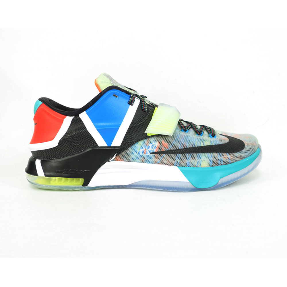 pretty nice 1dce9 d14b8 Nike KD NIKE KD Kevin Durant shoes   basketball shoes KD VII SE  multicolored 801,778-944 rare item