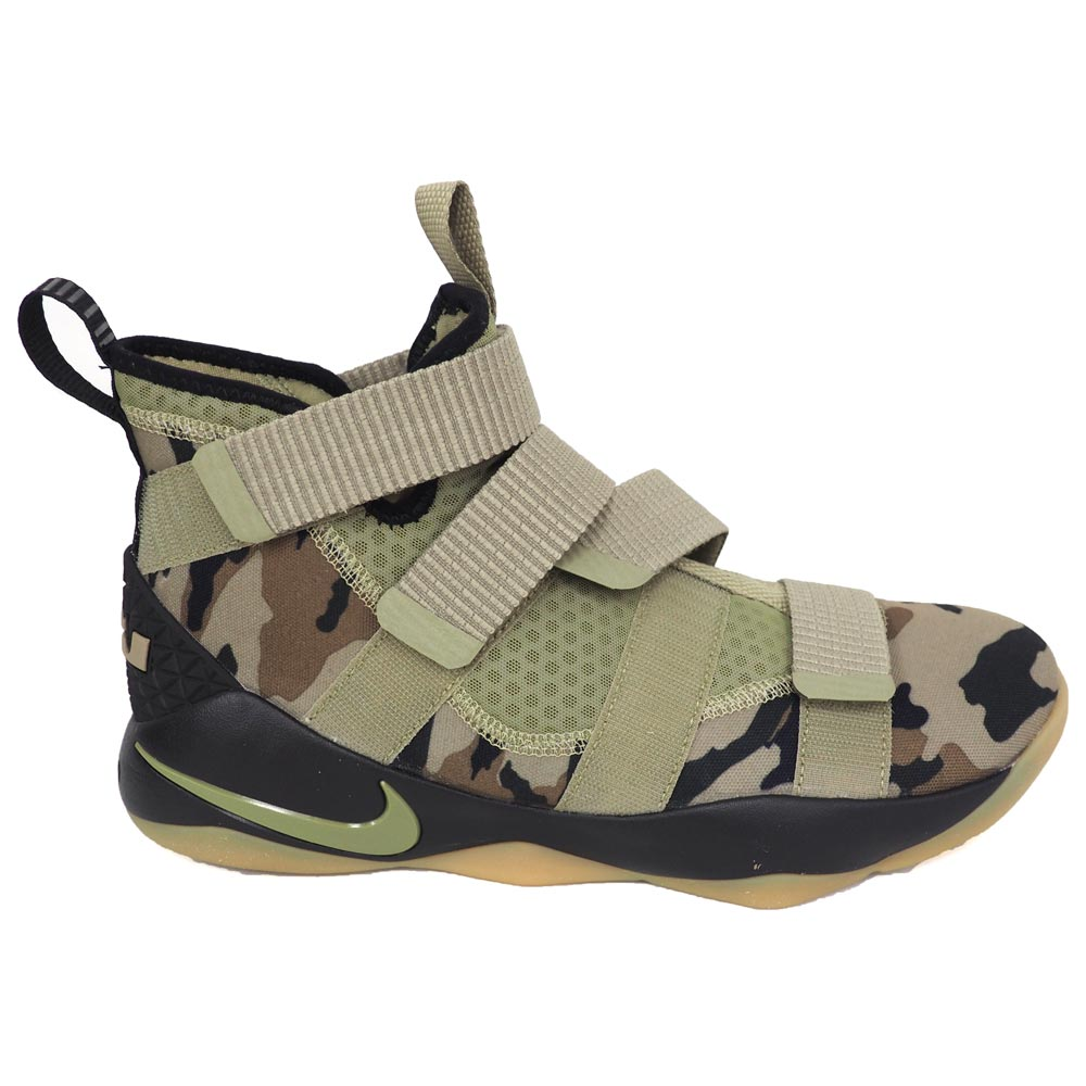 brand new 679a8 ad238 Nike Revlon /NIKE LEBRON Revlon soldier 11 Lebron Soldier XI basketball  shoes / shoes duck 897,644-200