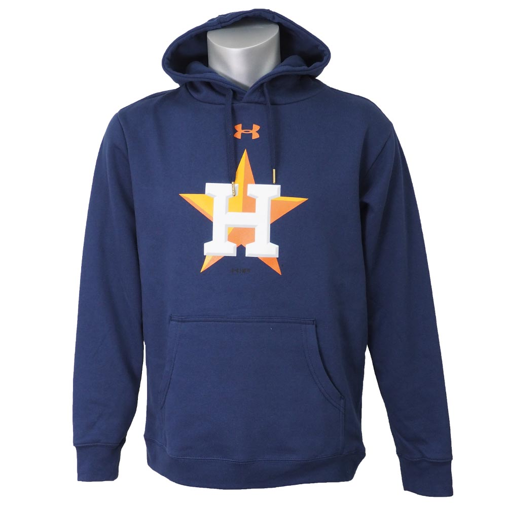 new arrival 3a901 4749b MLB Astros parka / フーディー UA commitment team mark under Armour /UNDER ARMOUR  navy
