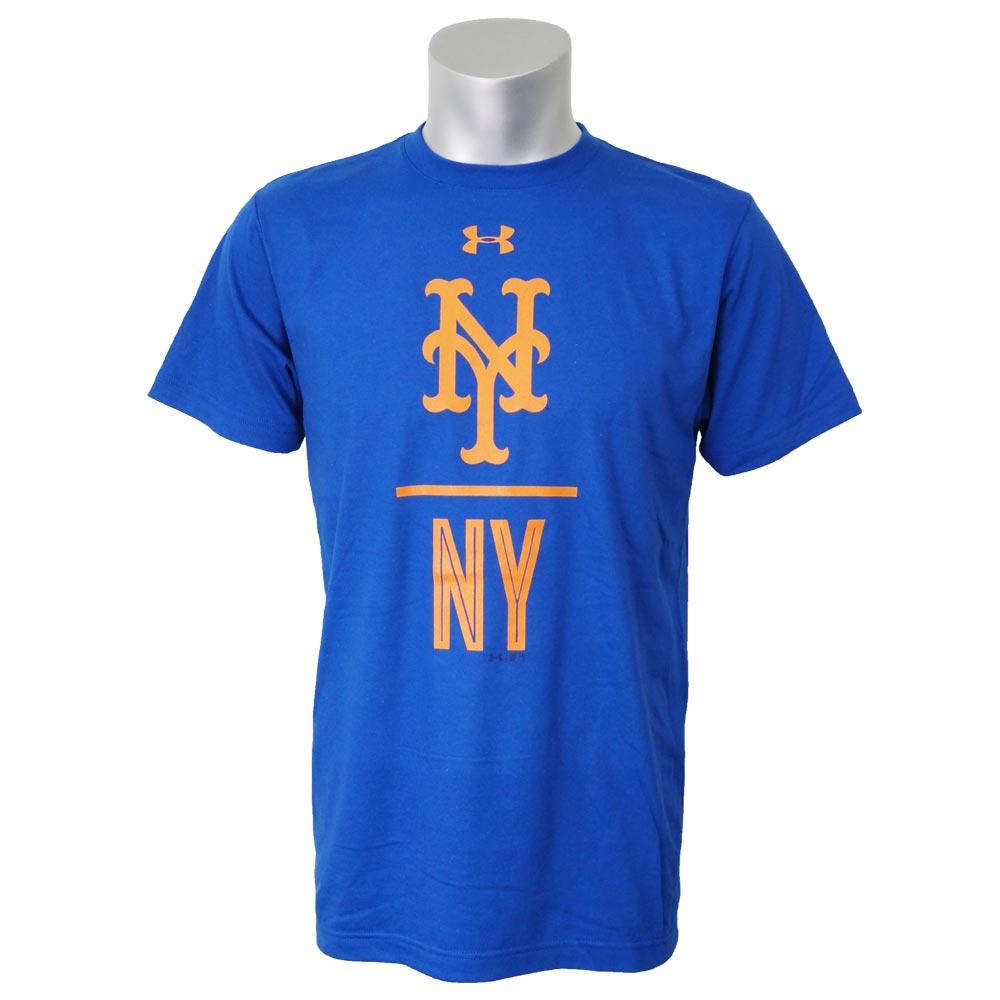 MLB メッツ Tシャツ 半袖 UA パフォーマンス スラッシュ アンダーアーマー/UNDER ARMOUR ロイヤル【1910セール】【1112】