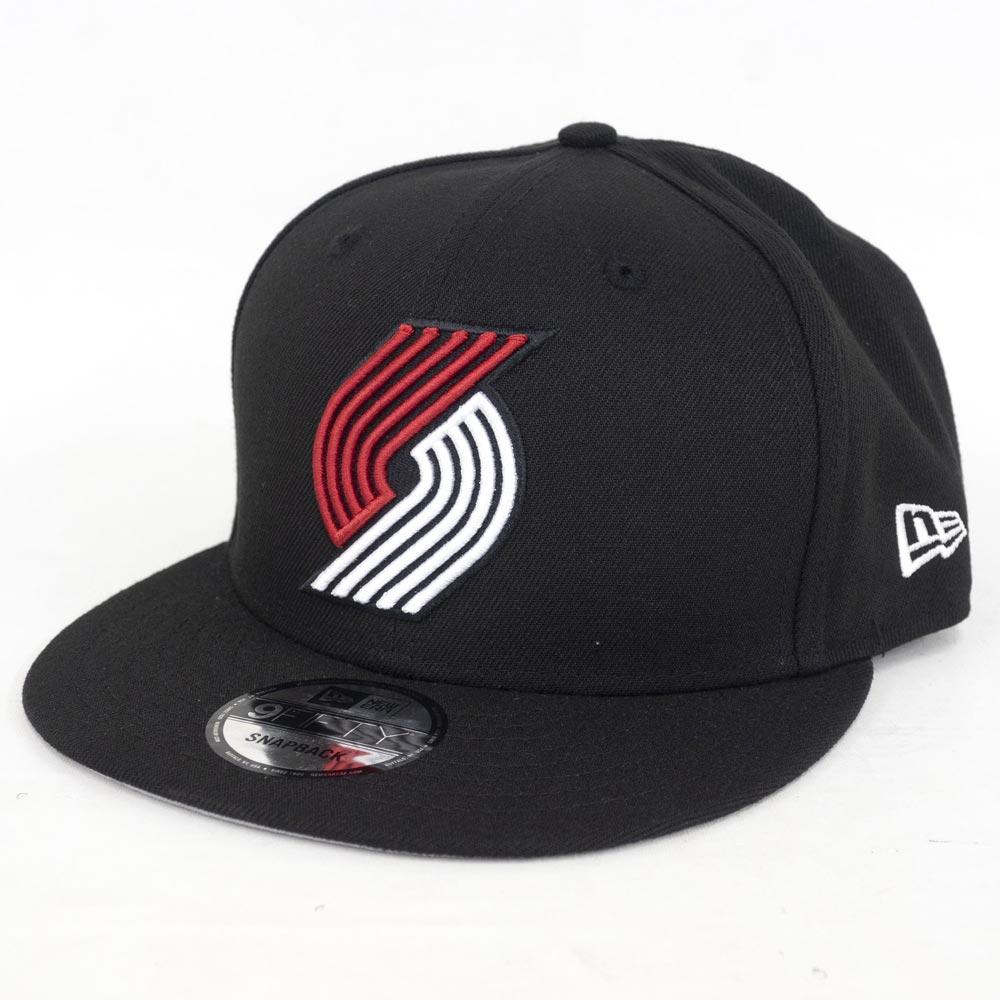 NBA トレイルブレイザーズ 9FIFTY キャップ/帽子 オフィシャル チームカラー アジャスタブル ニューエラ/New Era ブラック【1910価格変更】【191028変更】