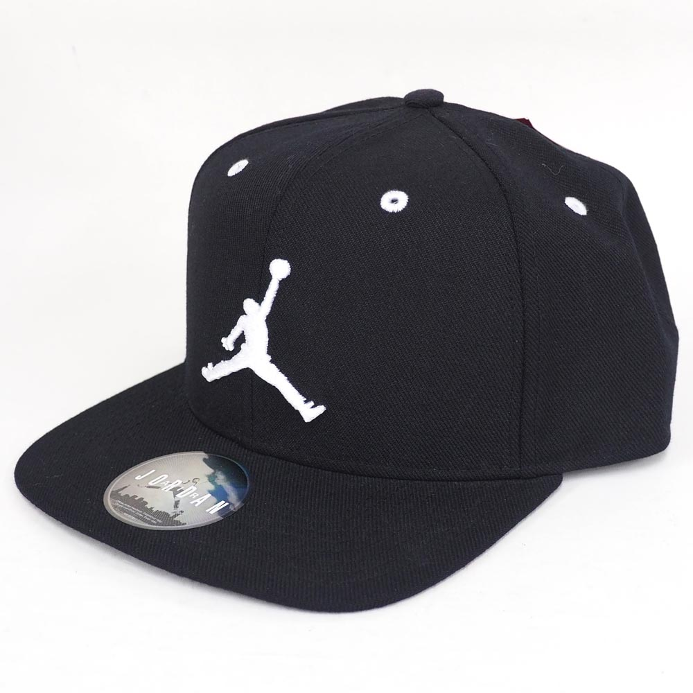 Rabatt-Sammlung elegantes Aussehen Sortenstile von 2019 Nike Jordan /NIKE JORDAN snapback cap / hat jump man polyblack 861,452-010