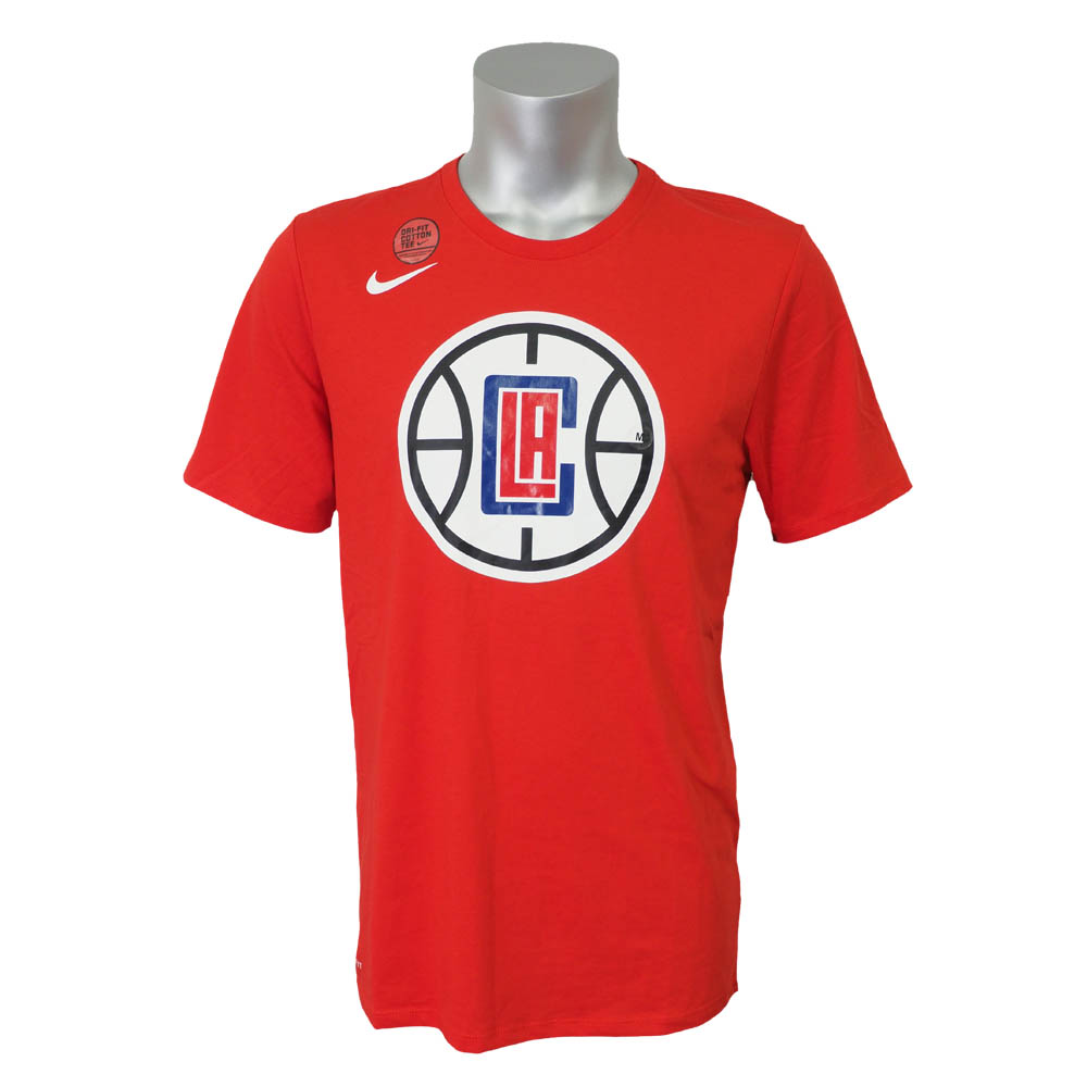 NBA Tシャツ クリッパーズ ロゴ DFC ナイキ/Nike レッド 870512-657【1910価格変更】【1911NBAt】