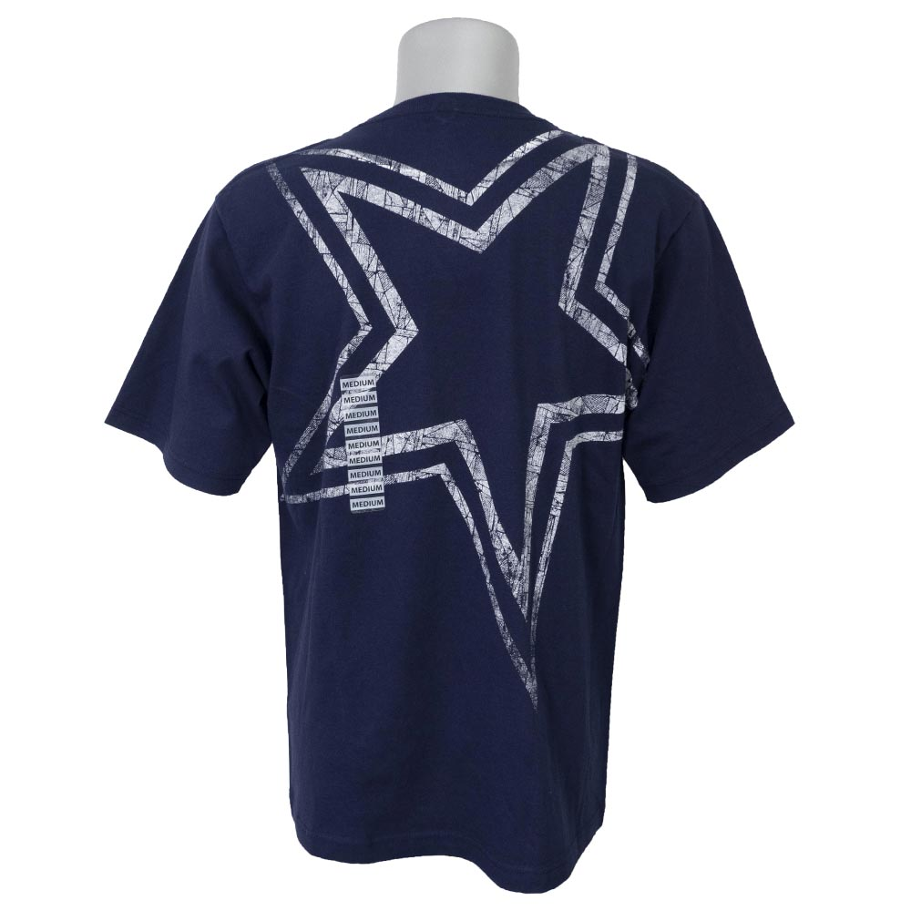 huge selection of 934a8 61b14 NFL Cowboys T-shirt short sleeves conglomerate Dallas Cowboys Authentic navy