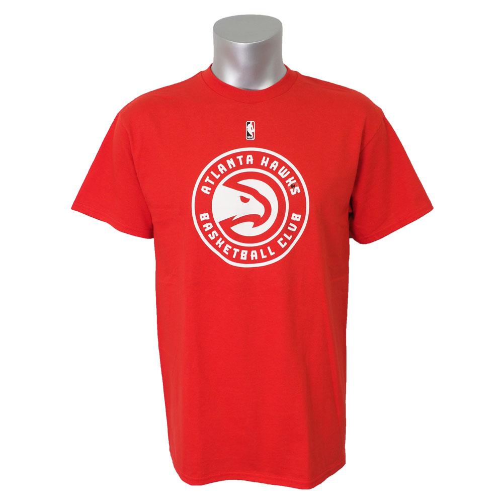 NBA Tシャツ ホークス プライマリーロゴ II マジェスティック/Majestic レッド【1910セール】【1911NBAt】
