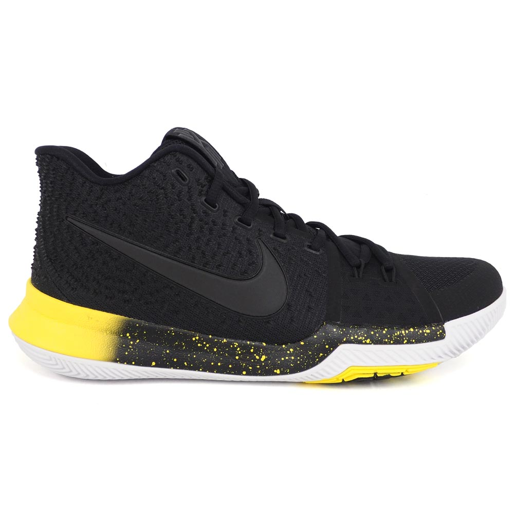 de8da909e6f Nike chi Lee  NIKE KYRIE chi Lee Irving chi Lee 3 basketball shoes   shoes KYRIE  3 Black Black-Varsity Maize-White 852