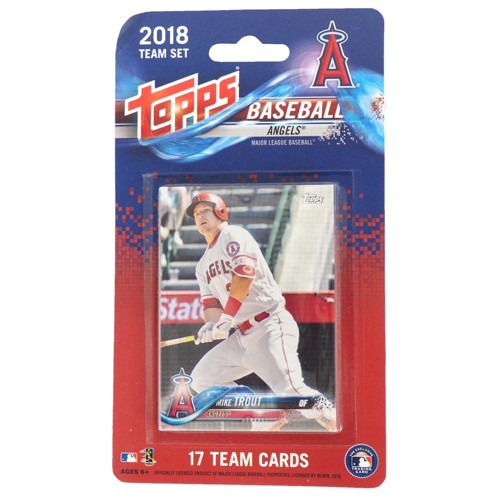 Mlb Angels 2018 Card Set Tops Topps