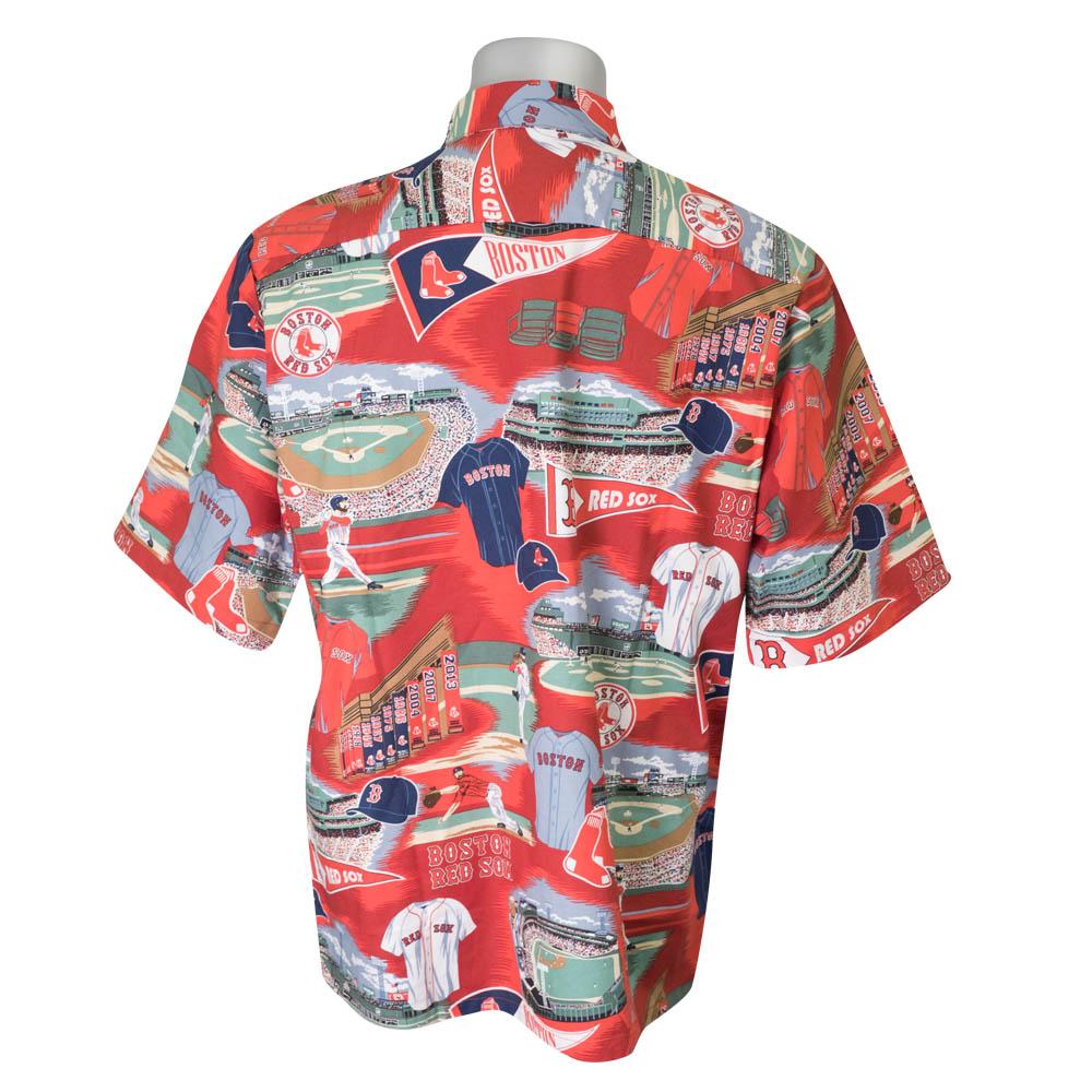 91c3e8e6 MLB NBA NFL Goods Shop: MLB レッドソックスアロハシャツレイン ...