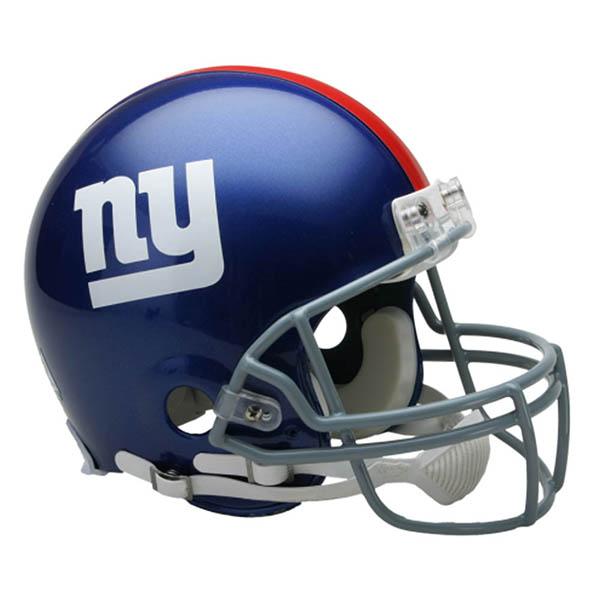 NFL ジャイアンツ オーセンティック ヘルメット 選手着用 VSR4 リデル/Riddell【1910価格変更】