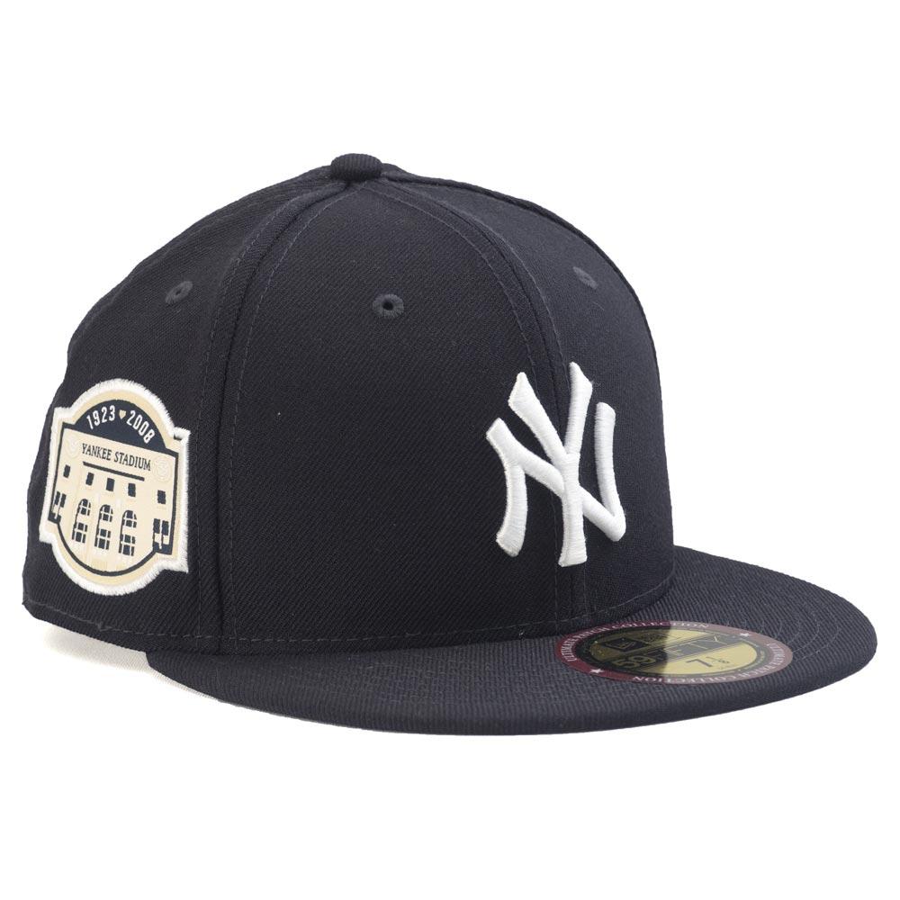 ヤンキース キャップ ニューエラ NEW ERA MLB 59FIFTY フィット アルティメット パッチ ネイビー レアアイテム【1910価格変更】【191028変更】