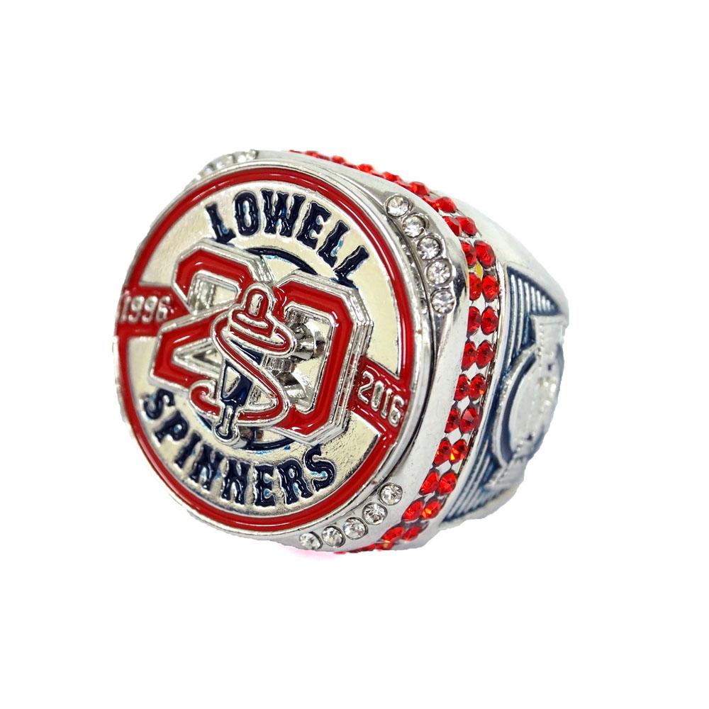 MiLB/マイナーリーグ ローウェル・スピナーズ リング/指輪 20周年記念 レアアイテム【1910価格変更】