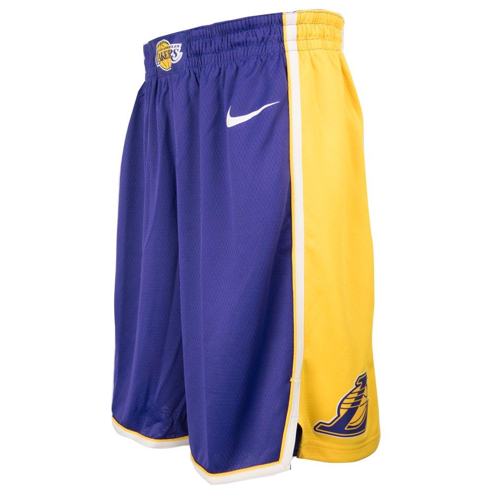 f6b66d66 MLB NBA NFL Goods Shop: NBA Lakers short pants / shorts swing manno ...