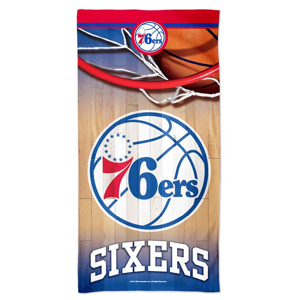 NBA 76ers ビーチタオル スペクトラ ウィンクラフト/WinCraft【1910価格変更】