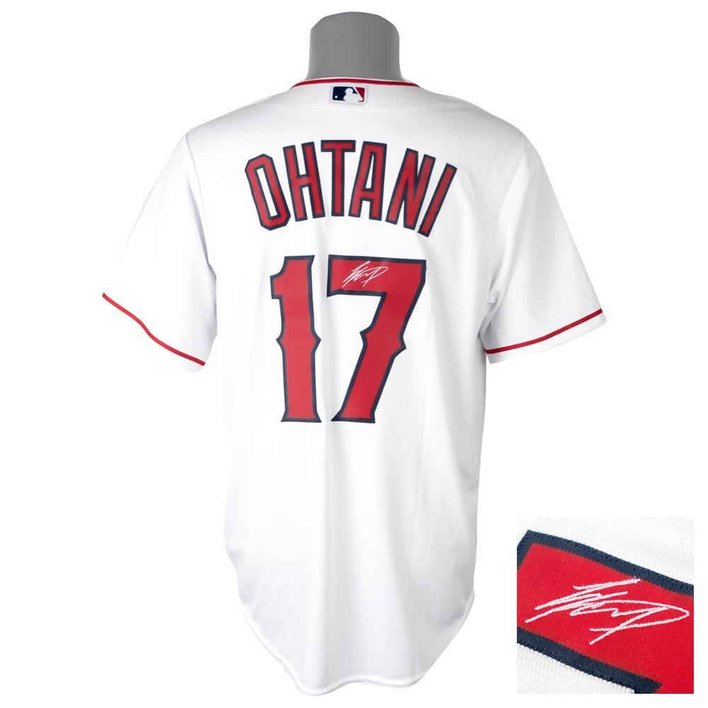 a3efea495aa Entering MLB Angels Shohei Otani uniform / jersey signature embroidery  replica custom majestic /Majestic home ...