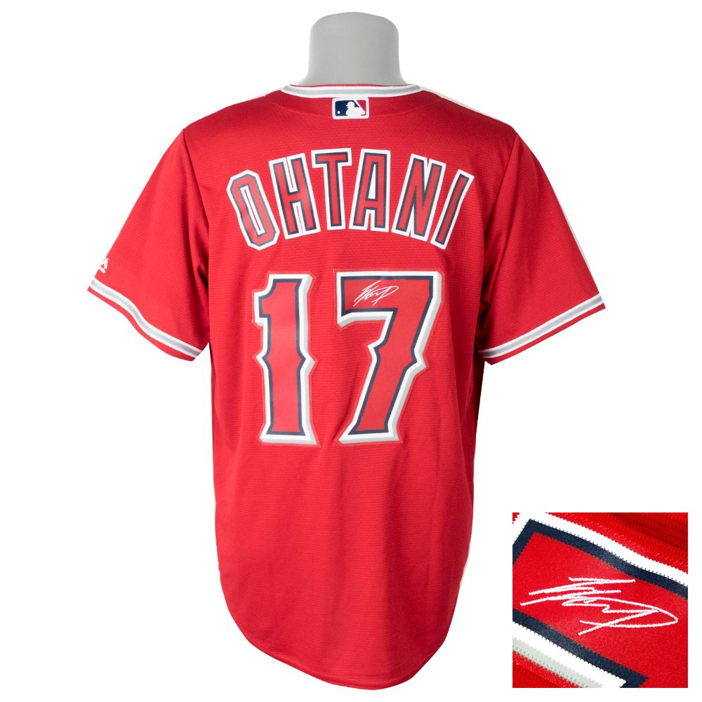 a1e2aa74f24 Entering MLB Angels Shohei Otani uniform / jersey signature embroidery  replica custom majestic /Majestic alternate ...