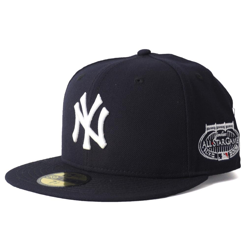 ヤンキース キャップ ニューエラ NEW ERA MLB オールスター 2008 パッチ 59FIFTY ネイビー【1910セール】【191028変更】