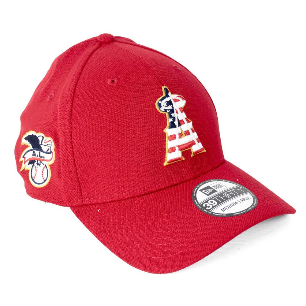 エンゼルス キャップ ニューエラ NEW ERA MLB 2018 スターズ&ストライプス フレックス レッド【1910価格変更】【191028変更】