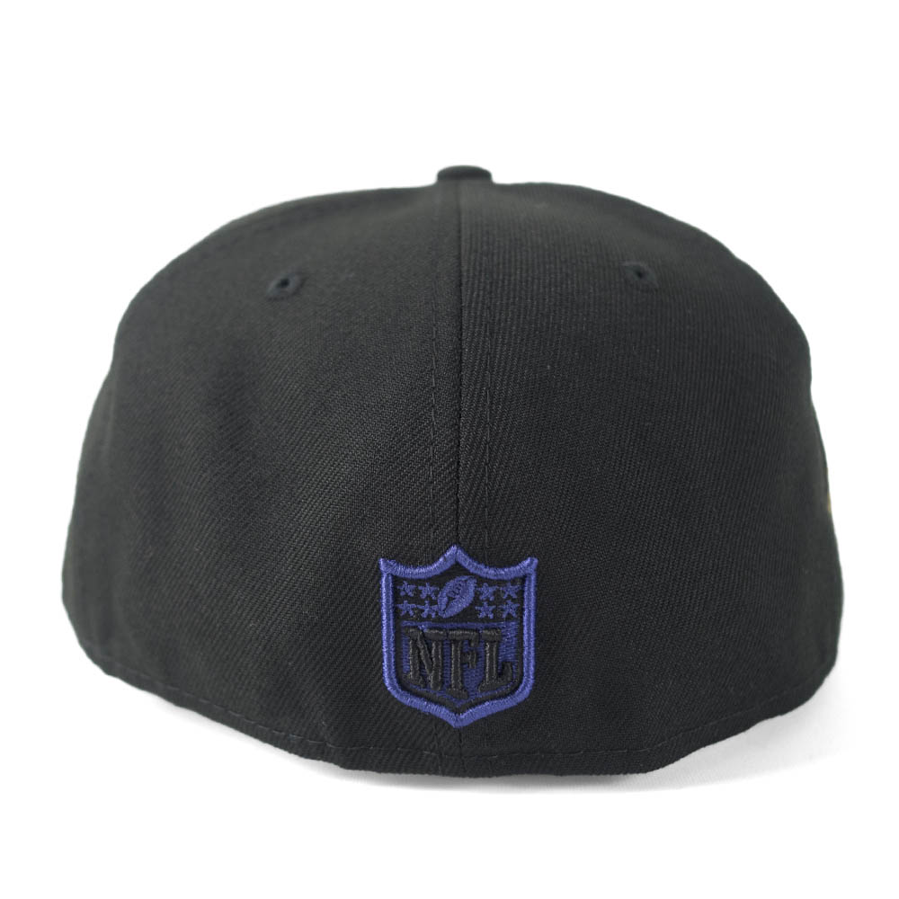 NFLレイブンズテレル?サグスキャップ/帽子サイン刺繍入りカスタマイズニューエラ/NewEraブラック