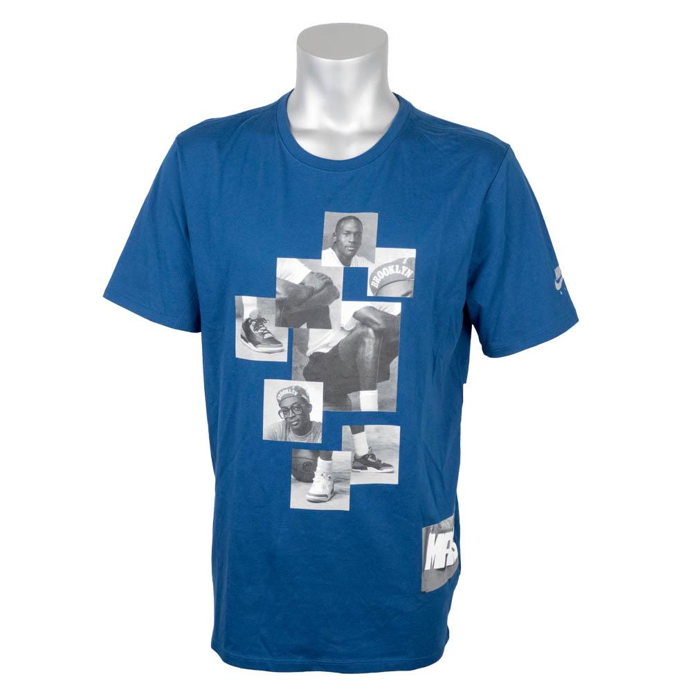 ナイキ ジョーダン/NIKE JORDAN Tシャツ 半袖 レトロ3 マイク&マーズ ブルー 835334-432【1910価格変更】