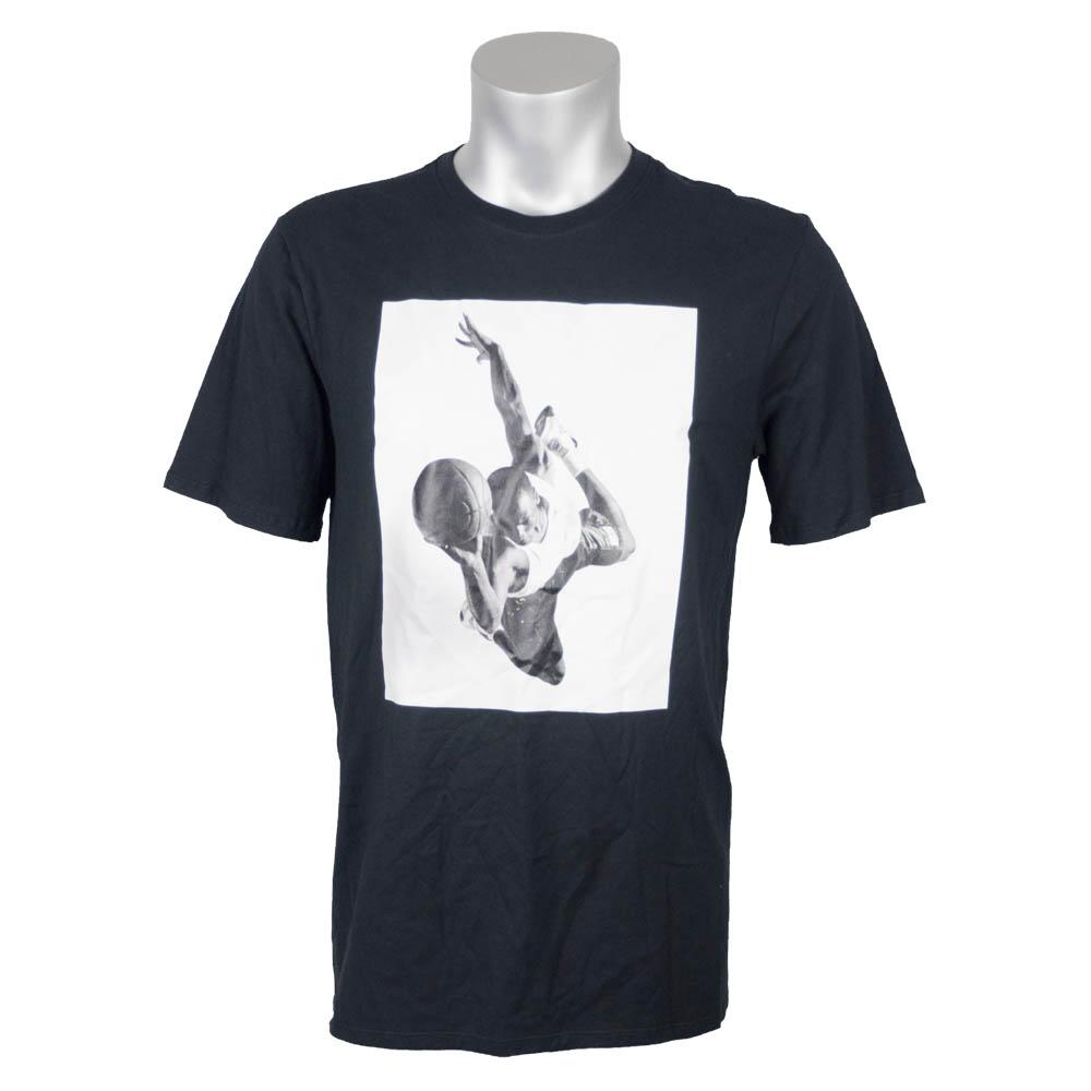 ナイキ ジョーダン/NIKE JORDAN Tシャツ 半袖 フライトヘリテージ ブラック AR2827-100【1910価格変更】